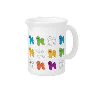 BICHON FRISE PITCHER