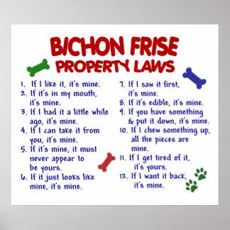 BICHON FRISE PL2 POSTERS