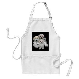 Bichon Frise Puppies Apron