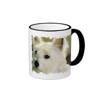 Bichon Frise Puppy Coffee Cup Mugs