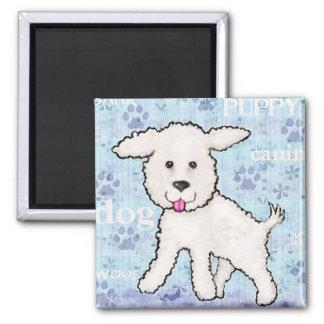 Bichon Frise Puppy Dog Magnet