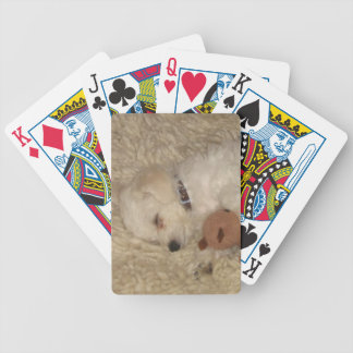 Bichon Frise Puppy Dog Playing Cards