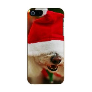 Bichon Frise puppy wearing Santa costume Incipio Feather® Shine iPhone 5 Case