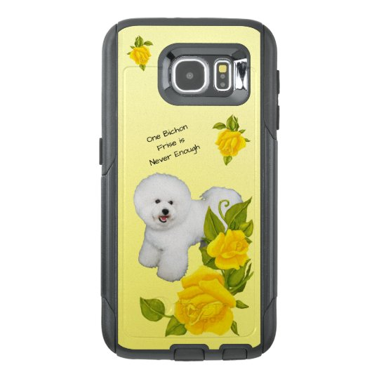 Bichon Frise, with Yellow Roses OtterBox Samsung Galaxy