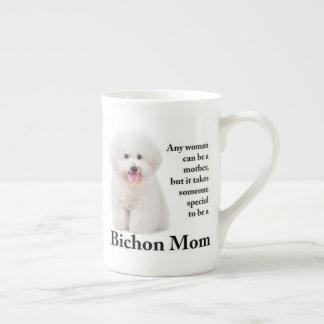 Bichon Mom Bone China Mug
