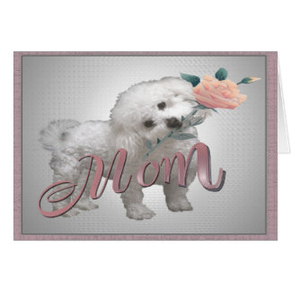 Bichon Mother Day card