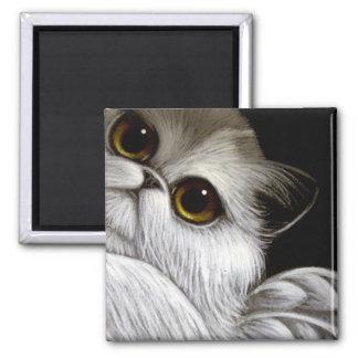 BICOLOR ANGEL PERSIAN CAT Magnet