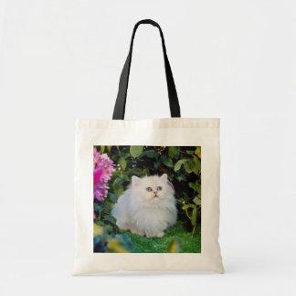 Bicolored kitten flowers bags