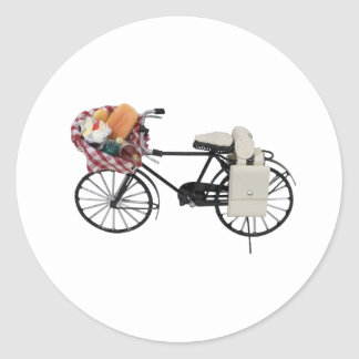 Bicycle071809 Classic Round Sticker