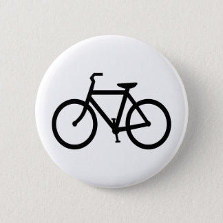 Bicycle 6 Cm Round Badge