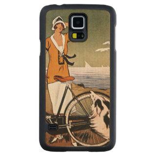 Bicycle Ad, 1925 Maple Galaxy S5 Slim Case