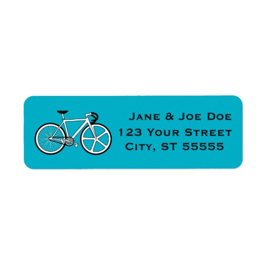 Bicycle Address Labels