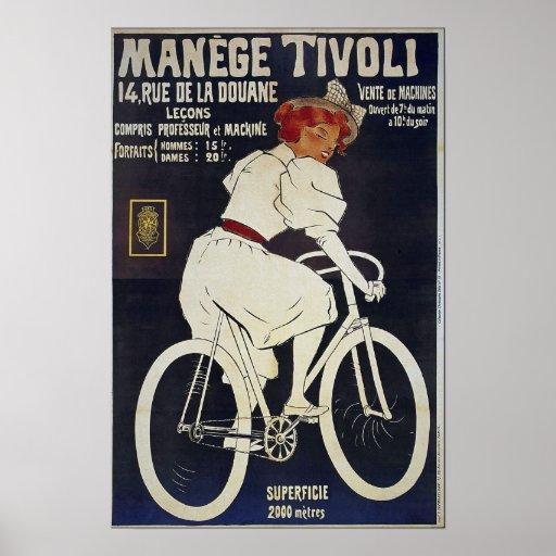 Bicycle Advertising Vintage Manage Tivoli Poster