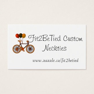 Bicycle Balloons Business Card