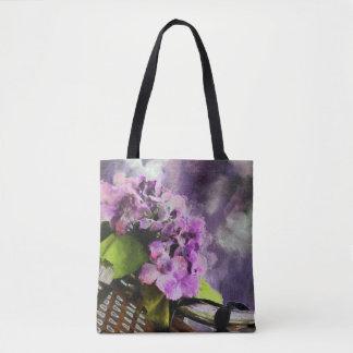 'Bicycle & Basket' Tote Bag lk