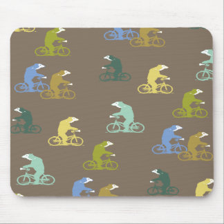 Bicycle Bears Mousepad