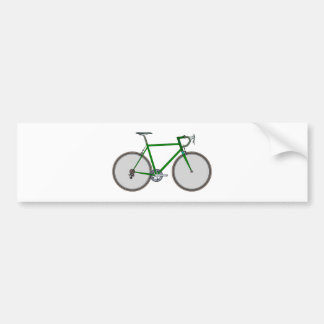 Bicycle bicycle bumper sticker