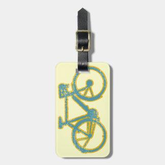 bicycle . bike / cycling nice luggage tag