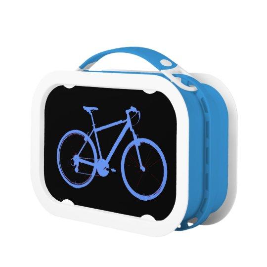 bicycle - biking + bike lunch box