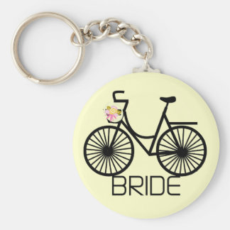 Bicycle Bride Tshirts and Gifts Key Chains
