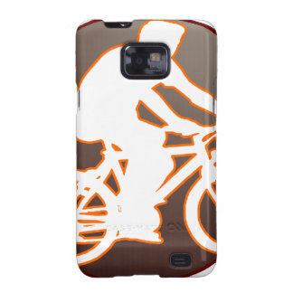 BICYCLE BROWN CIRCLE PRODUCTS GALAXY S2 CASES