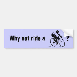 BICYCLE? bumper sticker