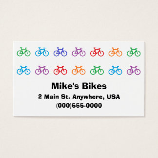 """Bicycle"" Business Cards"