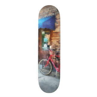 Bicycle By Post Office Skateboards