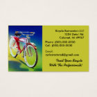 Bicycle Club Retro Style Restoration Business Card