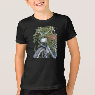 Bicycle covered with Clematis Kids App. T-shirt