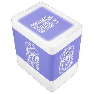 Bicycle custom color & text cooler igloo cool box