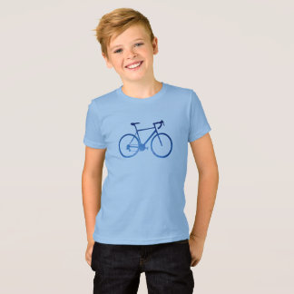 Bicycle Cycling T-Shirt, Aurora Northern Lights T-Shirt
