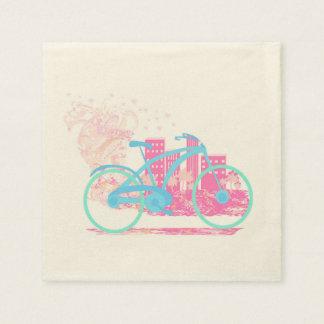 Bicycle Design Napkin Disposable Serviette