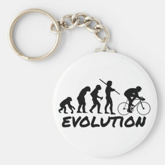 Bicycle Evolution Basic Round Button Key Ring