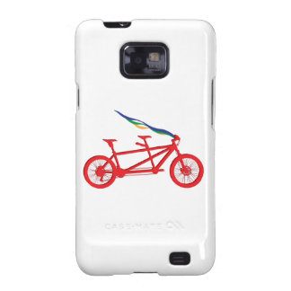Bicycle For Two Samsung Galaxy S2 Cases