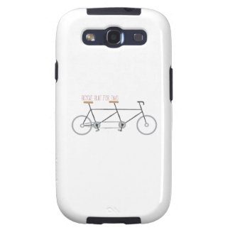 Bicycle for Two Samsung Galaxy SIII Cases