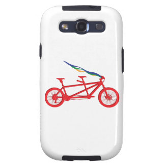Bicycle For Two Samsung Galaxy S3 Cover