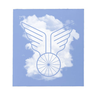 Bicycle freedom notepad