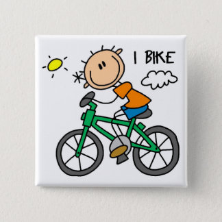 Bicycle Gift 15 Cm Square Badge