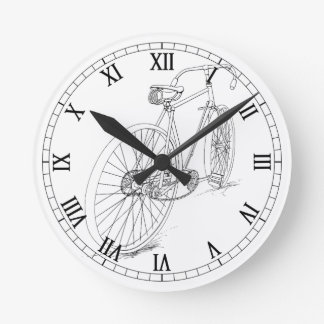 Bicycle Graphic Wall Clock
