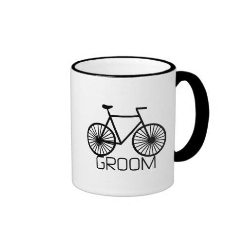 Bicycle Groom Tshirts and Gifts Mug