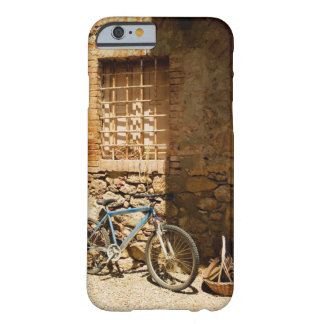 Bicycle in front of a wall, Monteriggioni, Siena Barely There iPhone 6 Case