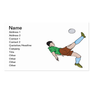 Bicycle Kick Double-Sided Standard Business Cards (Pack Of 100)