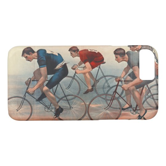 Bicycle Lithos Ad 1896 iPhone 8/7 Case