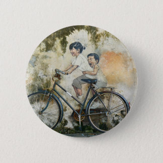 Bicycle Mural Button