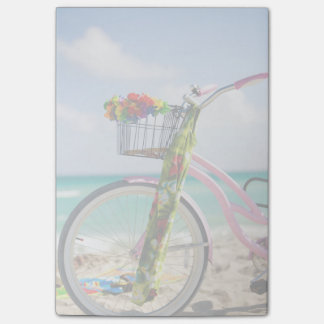 Bicycle On The Beach | Miami, Florida Post-it Notes