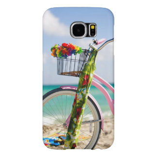 Bicycle On The Beach | Miami, Florida Samsung Galaxy S6 Cases
