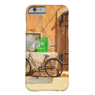 Bicycle outside of house barely there iPhone 6 case