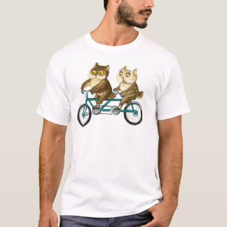 Bicycle owls T-Shirt