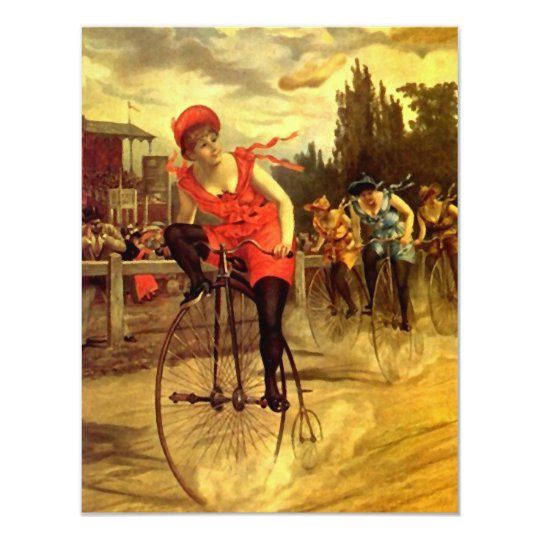 Bicycle Party Invitations Invitation Gals Social